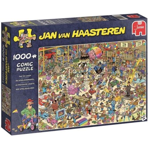 Jan van Haasteren Pussel - The Toy Shop 1000 bitar