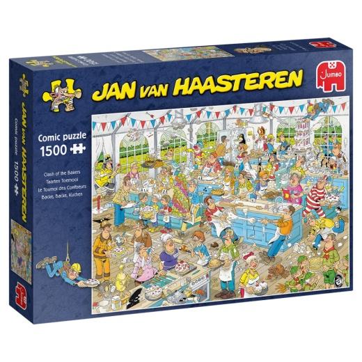 Jan Van Haasteren pussel - Clash of the bakers 1500 bitar