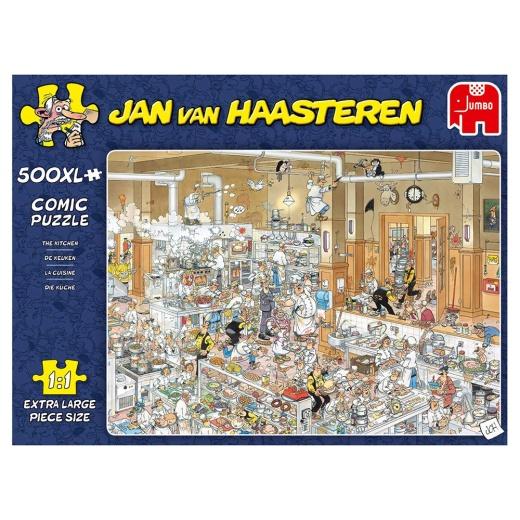 Jan Van Haasteren pussel - The Kitchen XL 500 Bitar