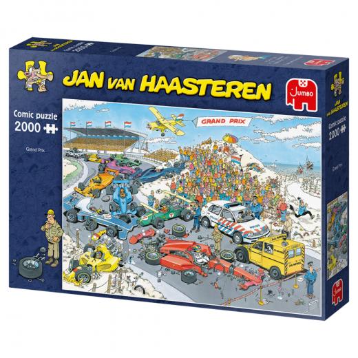 Jan van Haasteren Pussel - Formula 1. The Start 2000 Bitar