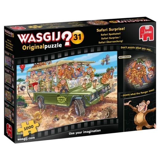 Wasgij? #31 - Safari Surprise! 1000 bitar
