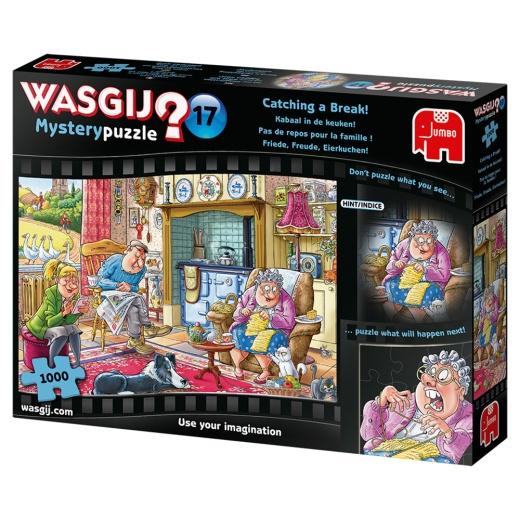 Wasgij? Mystery #17 - Catching a Break! 1000 Bitar