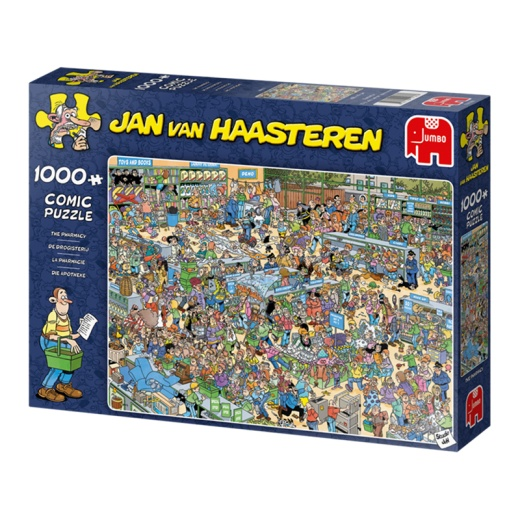 Jan van Haasteren Pussel - The Pharmacy 1000 Bitar