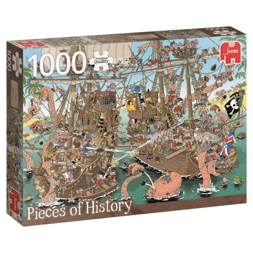Jumbo - Pieces of History - The Pirates 1000 bitar