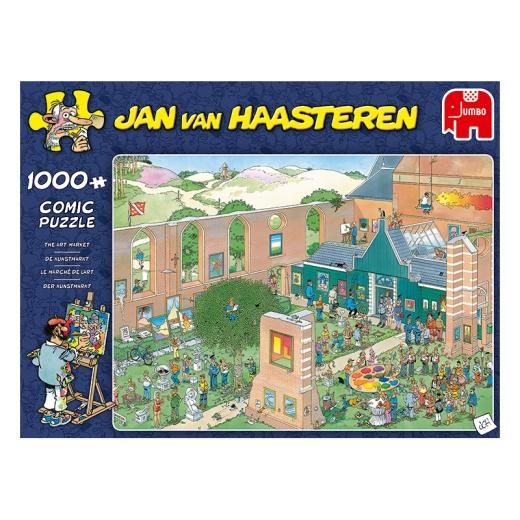 Jan van Haasteren Pussel - The Art Market 1000 Bitar