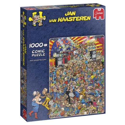 Jan Van Haasteren pussel - Rock Around the Clock 1000 Bitar