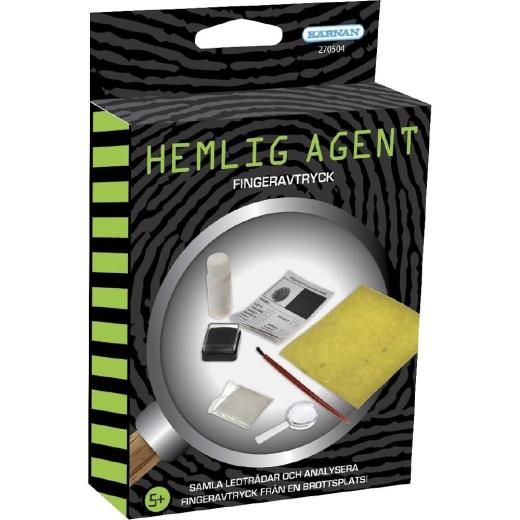 Hemlig Agent - Fingeravtryck
