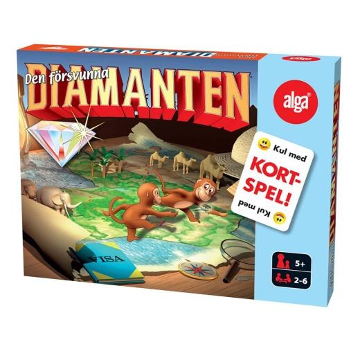Den Försvunna Diamanten Kortspel