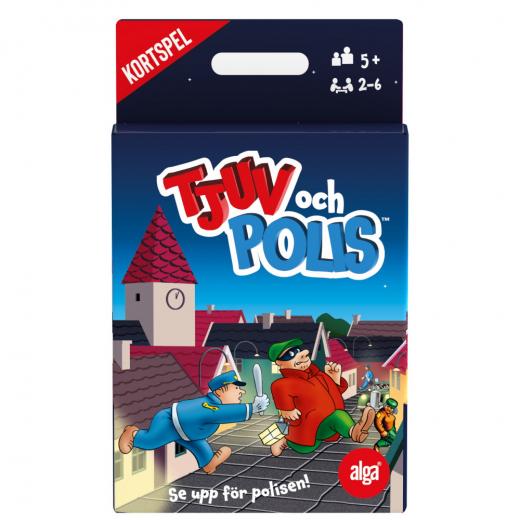 Tjuv och Polis kortspel