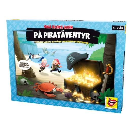 Små kloka barn på piratäventyr