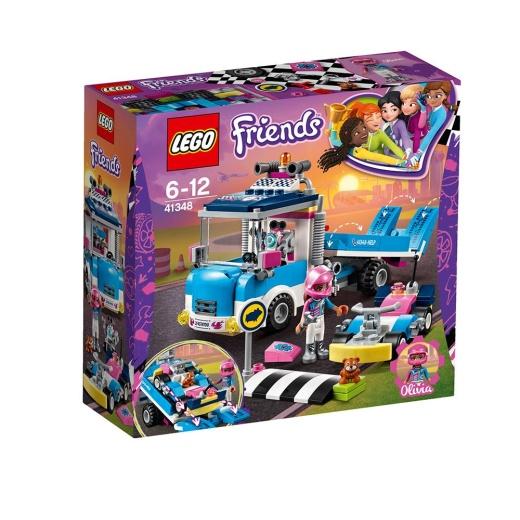 Lego Friends - Service- och underhållsbil 41348