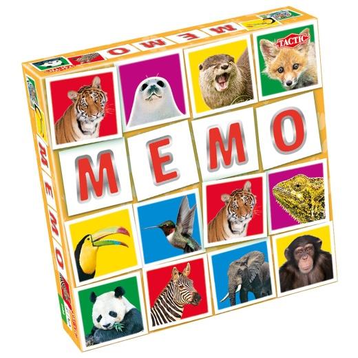 Vilda djur Memo