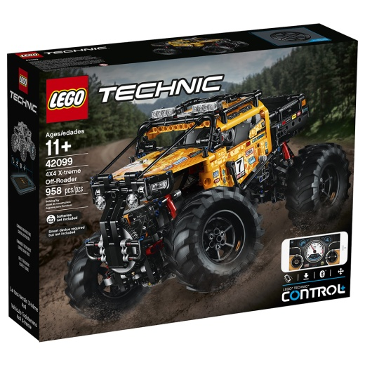 Lego Technic - Extrem 4X4 terrängbil 42099