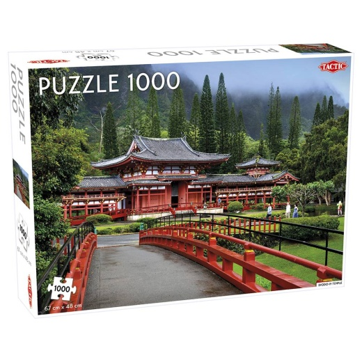 Tactic Pussel: Byodo-In Temple 1000 bitar