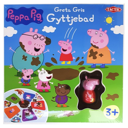 Greta Gris Gyttjebad