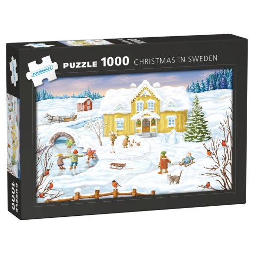 Kärnan Pussel: Christmas in Sweden 1000 Bitar