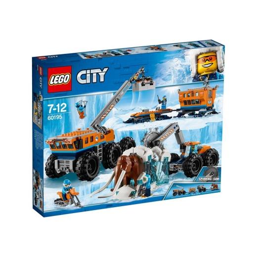 Lego City Arktisk mobil utforskningsbas 60195
