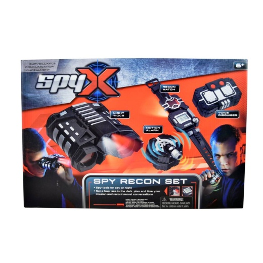 SpyX - Recon Set för spaning