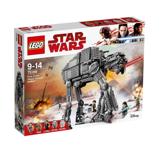 Lego Star Wars - First Order Heavy Assault Walker 75189 i gruppen  hos Spelexperten (75189)