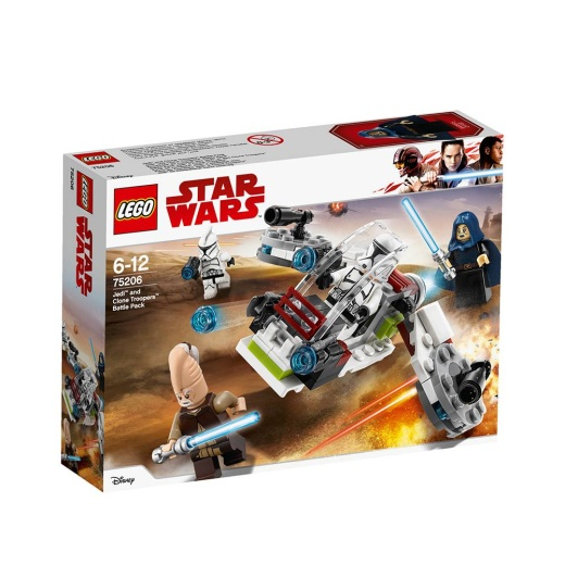 Lego Star Wars - Jedi? and Clone Troopers? Battle Pack 75206 i gruppen  hos Spelexperten (75206)