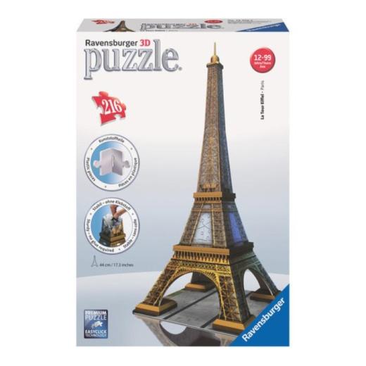 Ravensburger 3D Pussel Eiffeltornet 216 Bitar