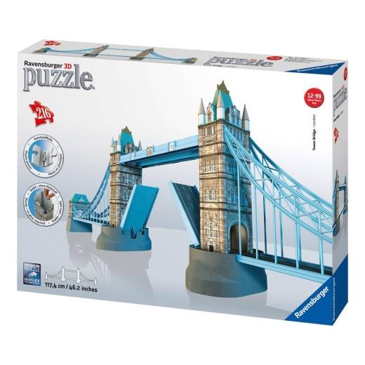 Tower Bridge pusselbyggnad 3D - 216 bitar