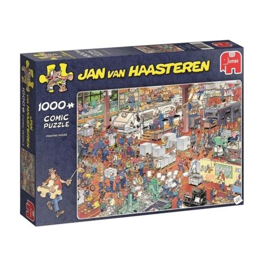 Jan van Haasteren Pussel - Printing House 1000 bitar