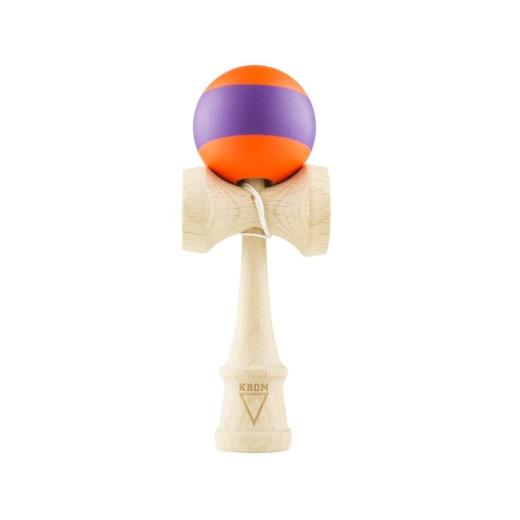 Krom Rubber - Stripe Orange & Purple