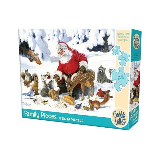 Cobble Hill Pussel - Santa Claus And Friends 350 Bitar