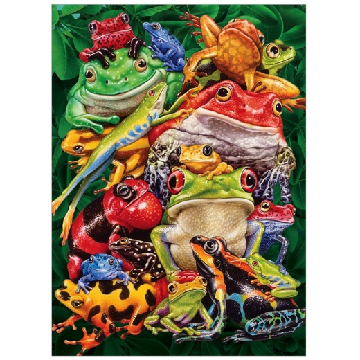 Cobble Hill Pussel - Frog Bussiness 1000 Bitar