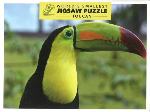 Världens Minsta Pussel - Toucan (234 bitar)