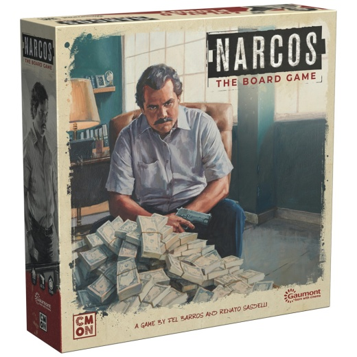 Narcos: The Board Game i gruppen SÄLLSKAPSSPEL / Strategispel hos Spelexperten (CMNNRC001)