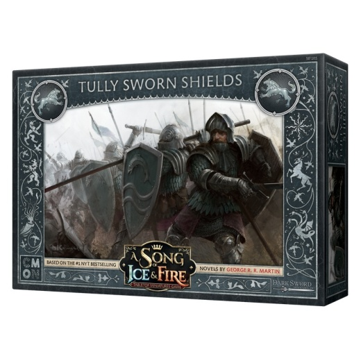 A Song of Ice & Fire: Tabletop Miniatures Game - Tully Sworn Shields (Exp.) i gruppen SÄLLSKAPSSPEL / Expansioner hos Spelexperten (CMNSIF105)