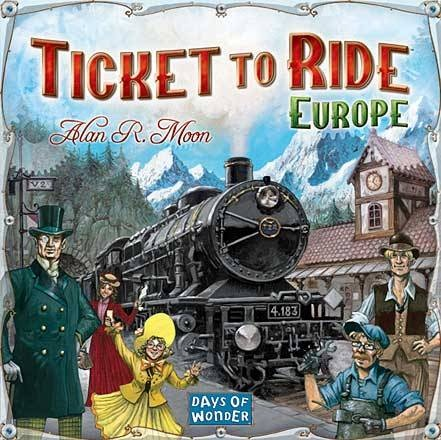 Ticket to Ride - Europe (Eng.) i gruppen SÄLLSKAPSSPEL / Strategispel hos Spelexperten (DOW7202)