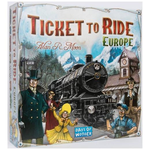 Ticket To Ride Europe (Swe)