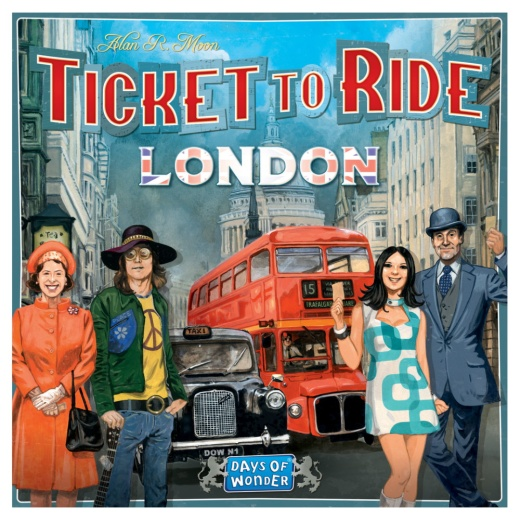 Ticket to Ride: London (Swe.)