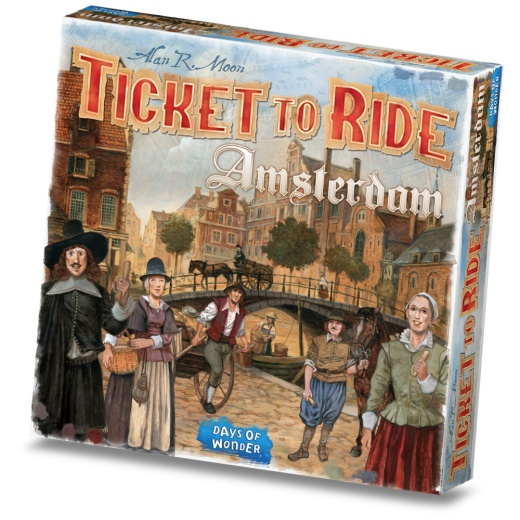 Ticket To Ride Amsterdam (Swe)