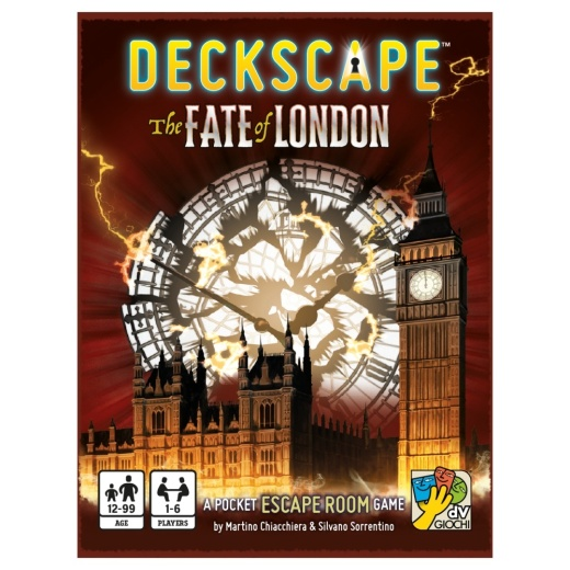 Deckscape: The Fate of London i gruppen SÄLLSKAPSSPEL / Kortspel hos Spelexperten (DVG4478)