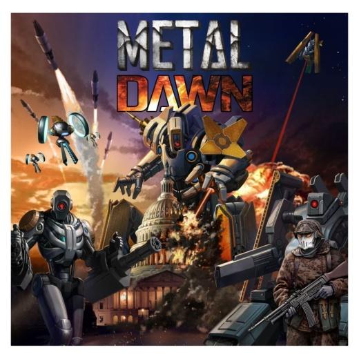 Metal Dawn (Kickstarter Tech War Deluxe Ed.)