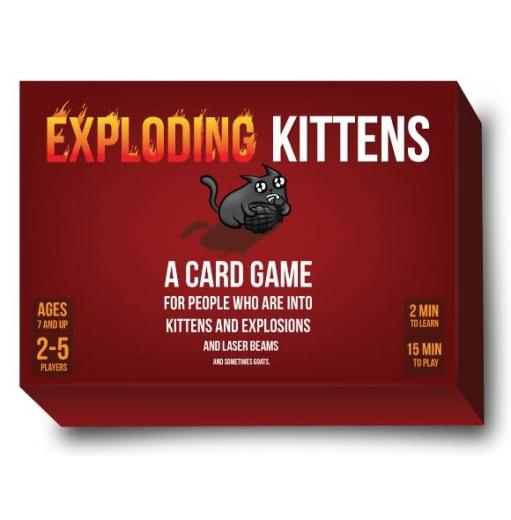 Exploding Kittens 1st Ed.