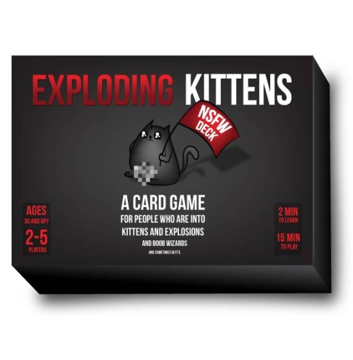 Exploding Kittens NSFW Ed. (Swe)
