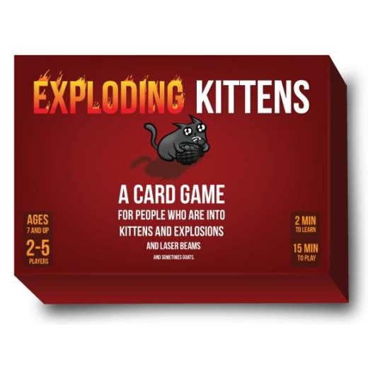 Exploding Kittens Original Ed. (Eng.)