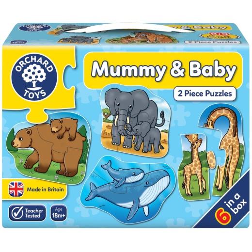 Pussel: Mummy & Baby
