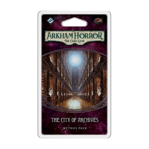 Arkham Horror: The Card Game - The City of Archives: Mythos Pack (Exp.)