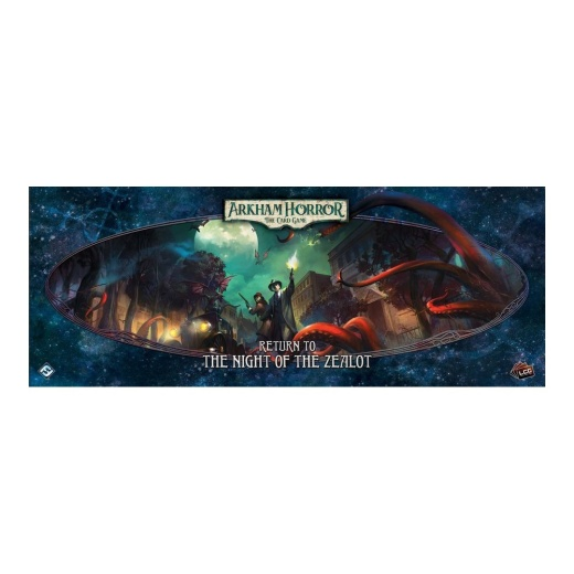 Arkham Horror: The Card Game - Return to the Night of the Zealot (Exp.) i gruppen SÄLLSKAPSSPEL / Expansioner hos Spelexperten (FAHC26)