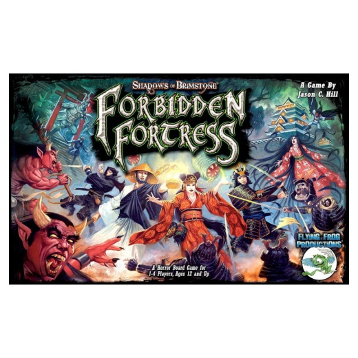 Shadows of Brimstone: Forbidden Fortress i gruppen SÄLLSKAPSSPEL / Strategispel hos Spelexperten (FFP0710)