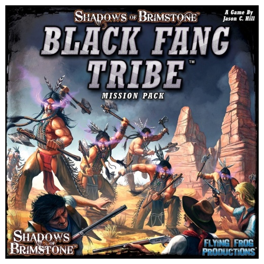 Shadows of Brimstone: Black Fang Tribe Mission Pack (Exp.) i gruppen SÄLLSKAPSSPEL / Expansioner hos Spelexperten (FFP07MP04)