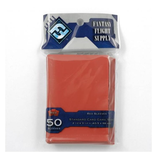 Sleeves FFG Red (63,5 x 88 mm)