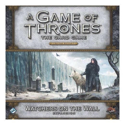 A Game of Thrones: The Card Game - Watchers on the Wall (Exp.) i gruppen SÄLLSKAPSSPEL / Expansioner hos Spelexperten (FGT22)