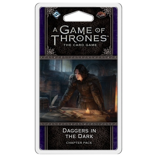 A Game of Thrones: The Card Game (2nd Edition) - Daggers in the Dark (Exp.) i gruppen SÄLLSKAPSSPEL / Expansioner hos Spelexperten (FGT366)